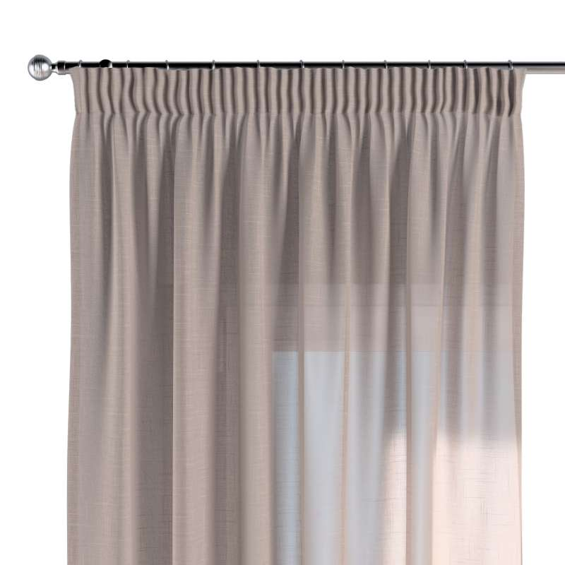 Pencil pleat curtain in collection Romantica, fabric: 142-89