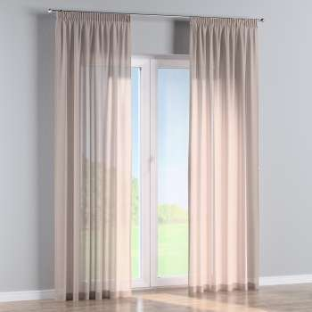 Pencil pleat curtains in collection Romantica, fabric: 142-89