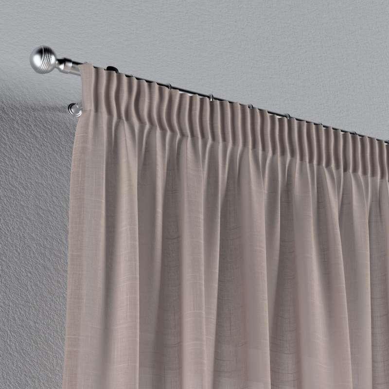 Vorhang mit Kräuselband von der Kollektion Romantica, Stoff: 142-89