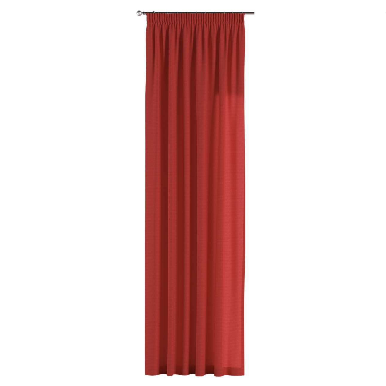 Pencil pleat curtains in collection Jupiter, fabric: 127-15