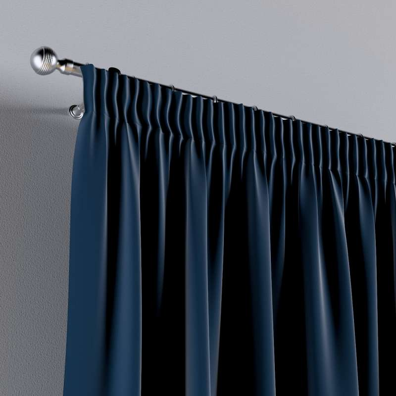 Vorhang mit Kräuselband 1 Stck. von der Kollektion Posh Velvet, Stoff: 704-29