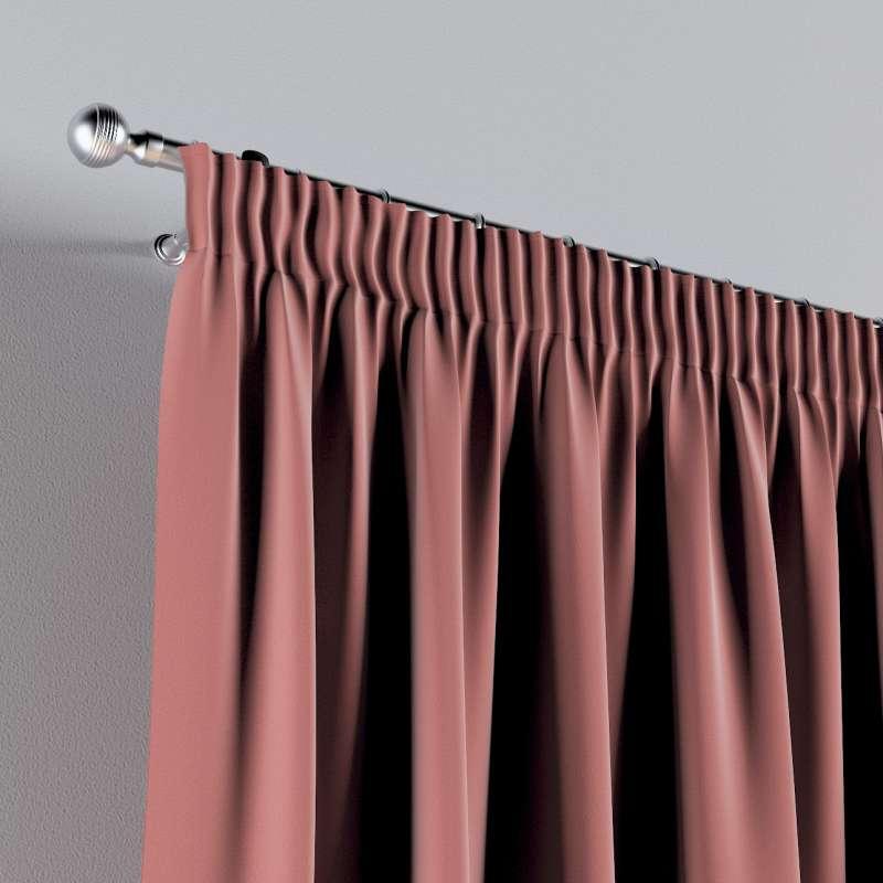 Vorhang mit Kräuselband 1 Stck. von der Kollektion Posh Velvet, Stoff: 704-30