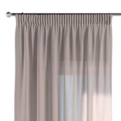 Pencil pleat curtains 142-89 transparent beige Collection Sweet Secret