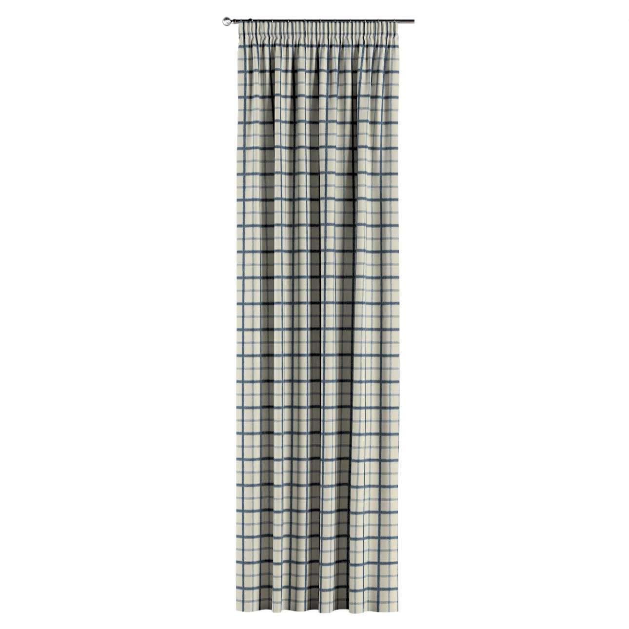 Vorhang mit Kräuselband 1 Stck. 130 x 260 cm von der Kollektion Avinon, Stoff: 131-66