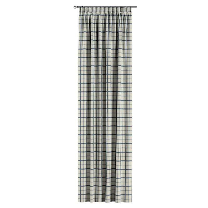 Vorhang mit Kräuselband von der Kollektion Avinon, Stoff: 131-66