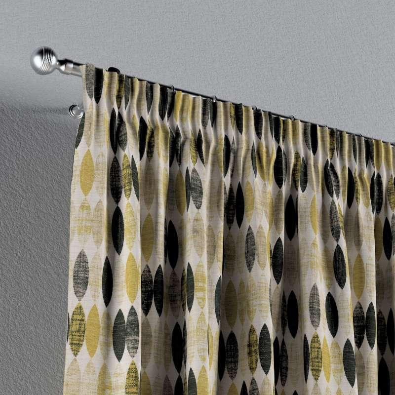 Vorhang mit Kräuselband von der Kollektion Modern, Stoff: 142-99