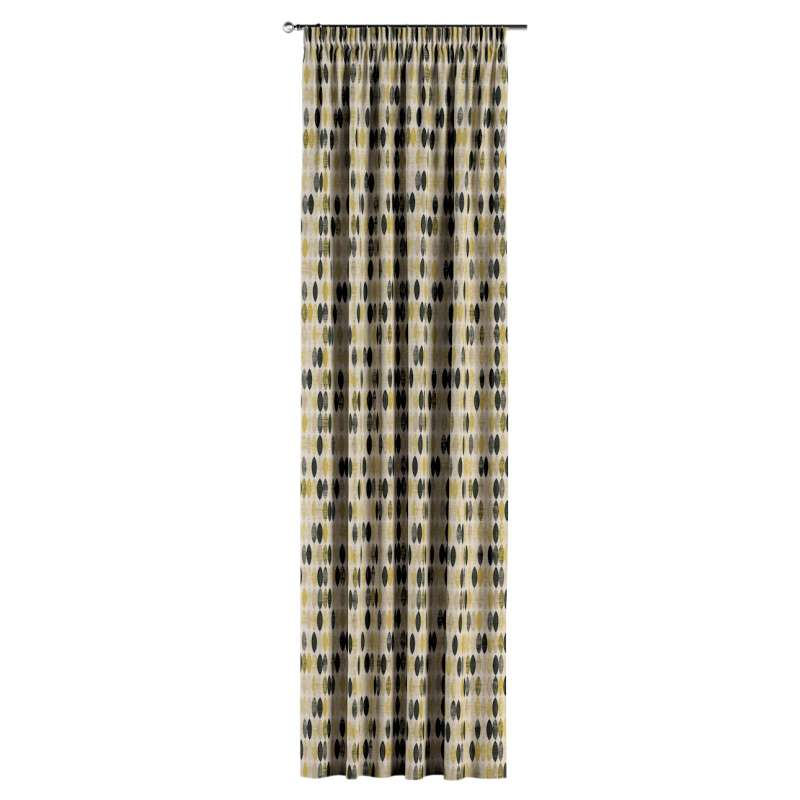 Pencil pleat curtain in collection Modern, fabric: 142-99