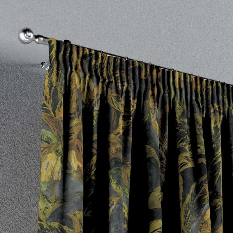 Vorhang mit Kräuselband von der Kollektion Abigail, Stoff: 143-01