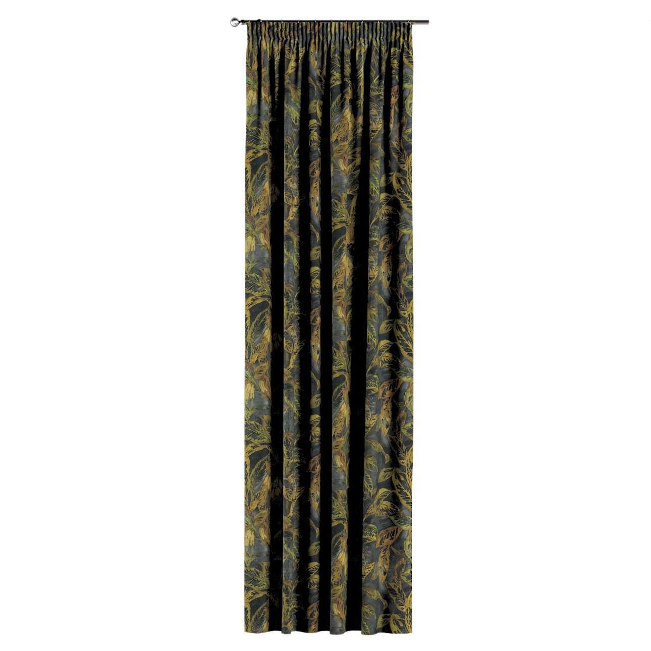 Záves na riasiacej páske V kolekcii Abigail, tkanina: 143-01