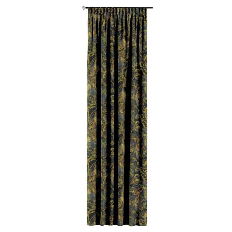 Gardin med rynkband 1 längd i kollektionen Abigail, Tyg: 143-01