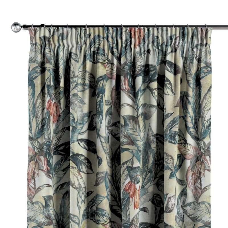 Vorhang mit Kräuselband von der Kollektion Abigail, Stoff: 143-08