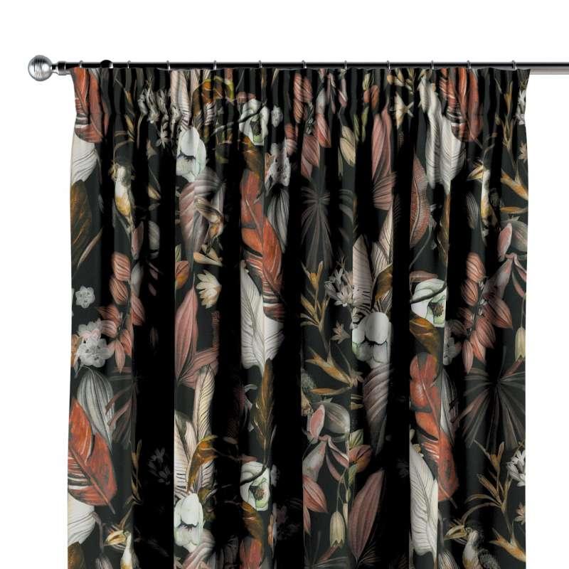 Függöny ráncolóval a kollekcióból Abigail, Dekoranyag: 143-10