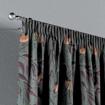 Záves na riasiacej páske V kolekcii Abigail, tkanina: 143-11