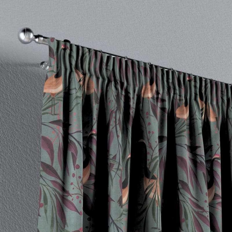 Vorhang mit Kräuselband von der Kollektion Abigail, Stoff: 143-11