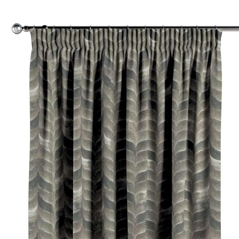 Vorhang mit Kräuselband von der Kollektion Abigail, Stoff: 143-12