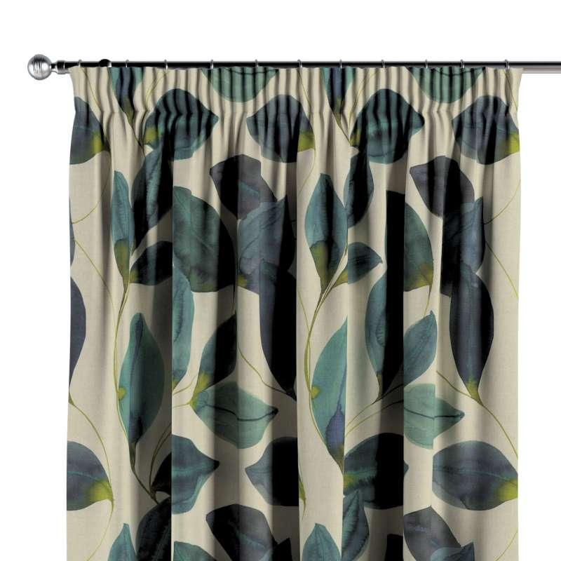 Vorhang mit Kräuselband von der Kollektion Abigail, Stoff: 143-15