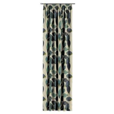 Záves na riasiacej páske V kolekcii Abigail, tkanina: 143-15