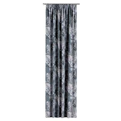 Záves na riasiacej páske V kolekcii Abigail, tkanina: 143-18