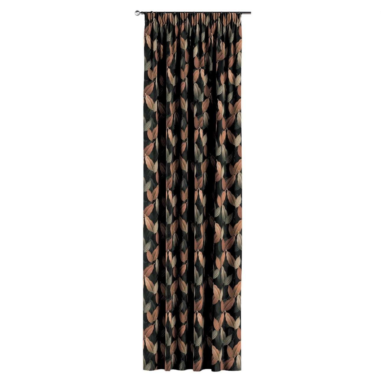 Záves na riasiacej páske V kolekcii Abigail, tkanina: 143-21