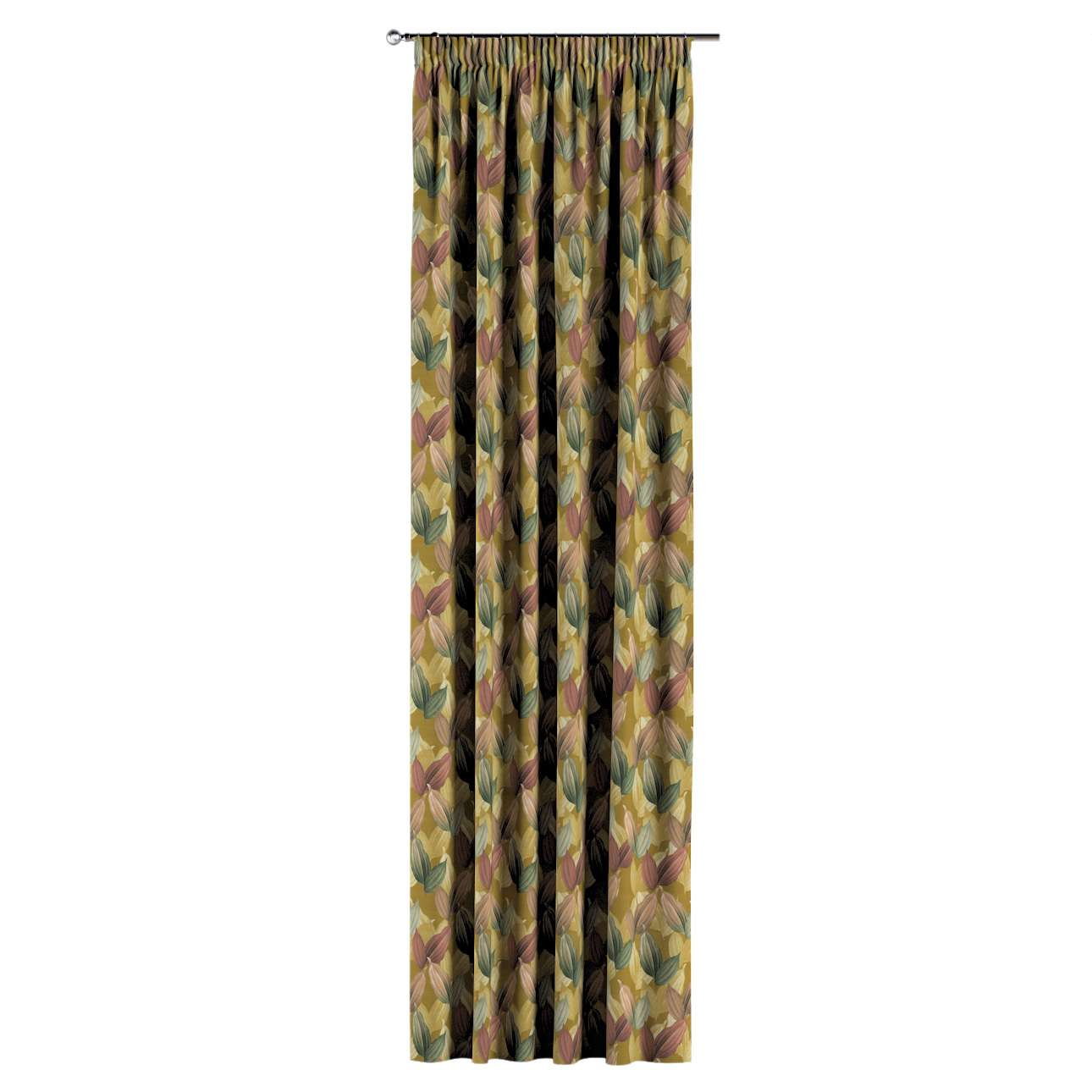 Pencil pleat curtains in collection Abigail, fabric: 143-22