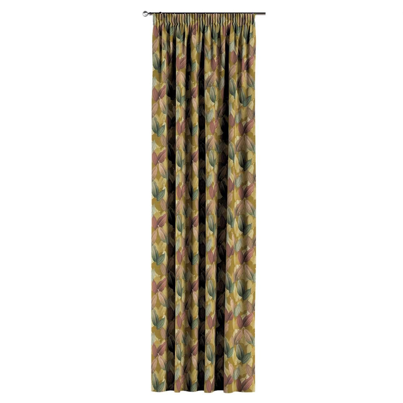 Záves na riasiacej páske V kolekcii Abigail, tkanina: 143-22