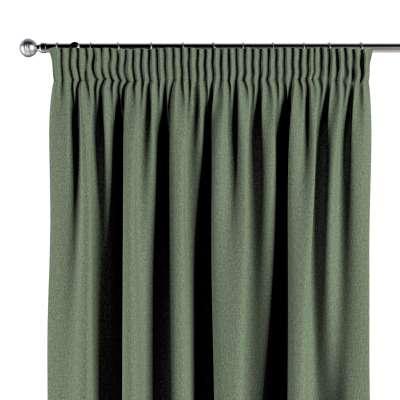 Vorhang mit Kräuselband 704-44 grün Kollektion Amsterdam