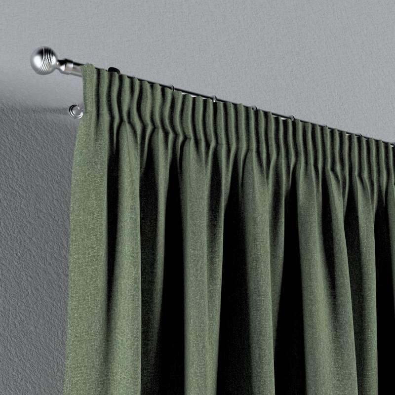 Vorhang mit Kräuselband von der Kollektion Amsterdam, Stoff: 704-44