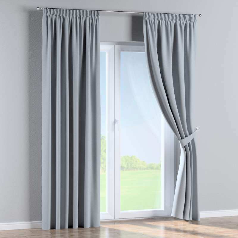Pencil pleat curtain in collection Amsterdam, fabric: 704-46
