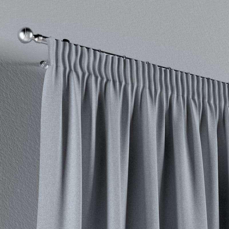 Vorhang mit Kräuselband von der Kollektion Amsterdam, Stoff: 704-46
