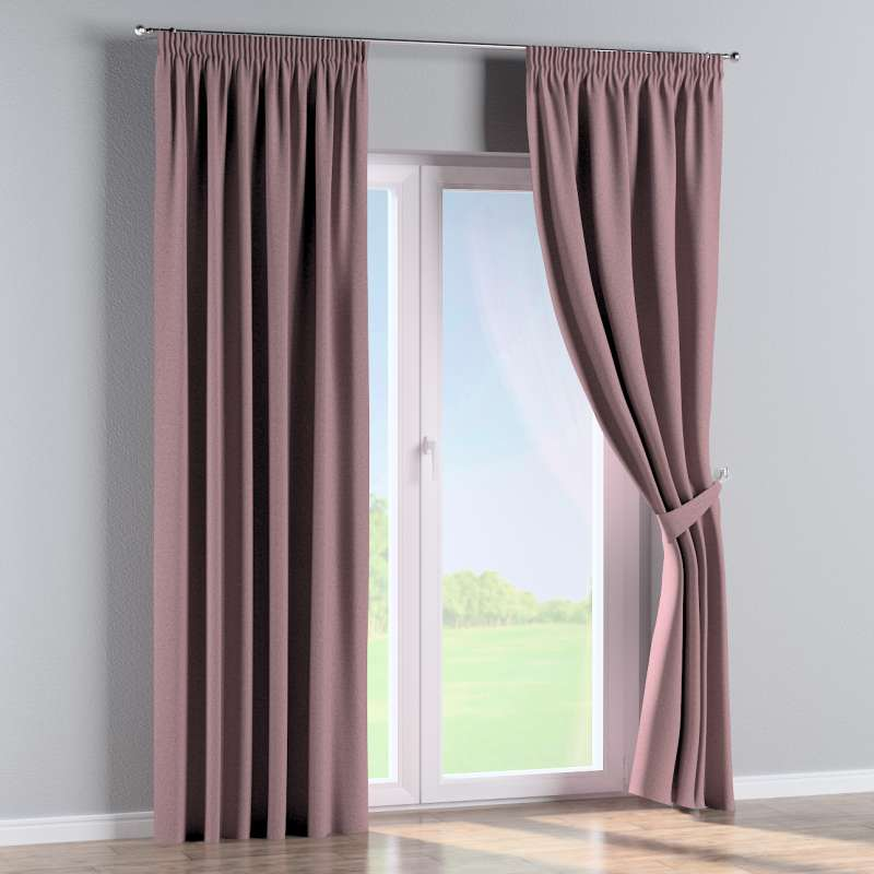 Pencil pleat curtain in collection Amsterdam, fabric: 704-48