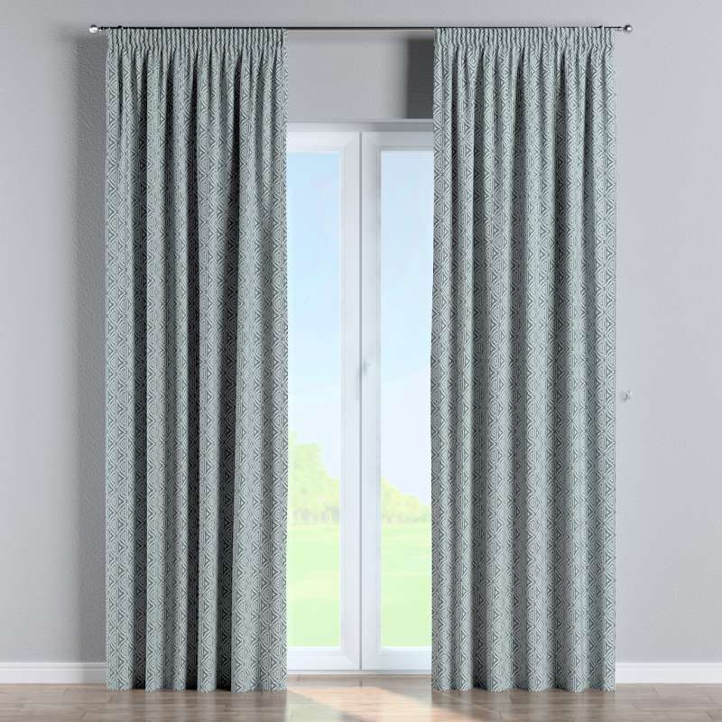 Pencil pleat curtain in collection Comics/Geometrical, fabric: 143-23