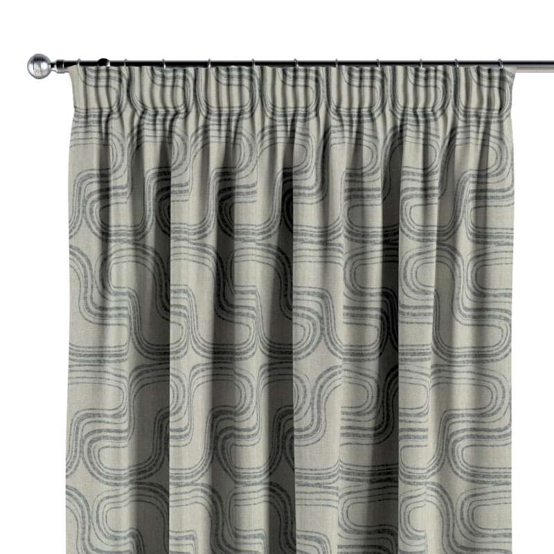 Pencil pleat curtain in collection Comics/Geometrical, fabric: 143-14