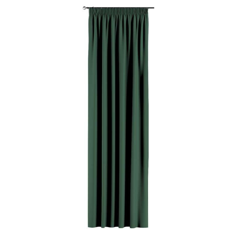 Záves na riasiacej páske V kolekcii Blackout - zatemňujúca, tkanina: 269-18