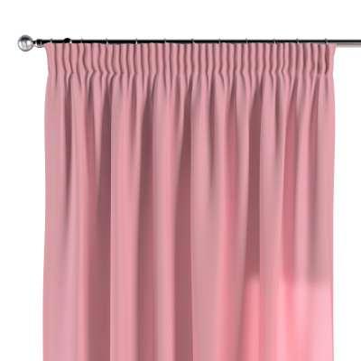 Vorhang mit Kräuselband 133-62 rosa Kollektion Loneta