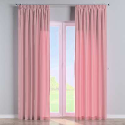Pencil pleat curtain 133-62 old rose Collection Loneta