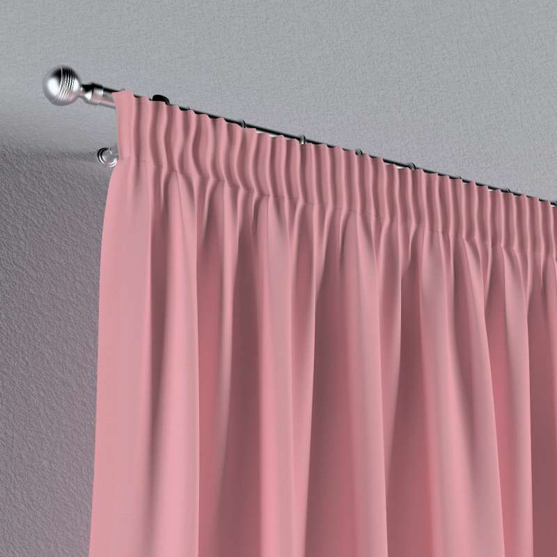 Pencil pleat curtain in collection Loneta , fabric: 133-62