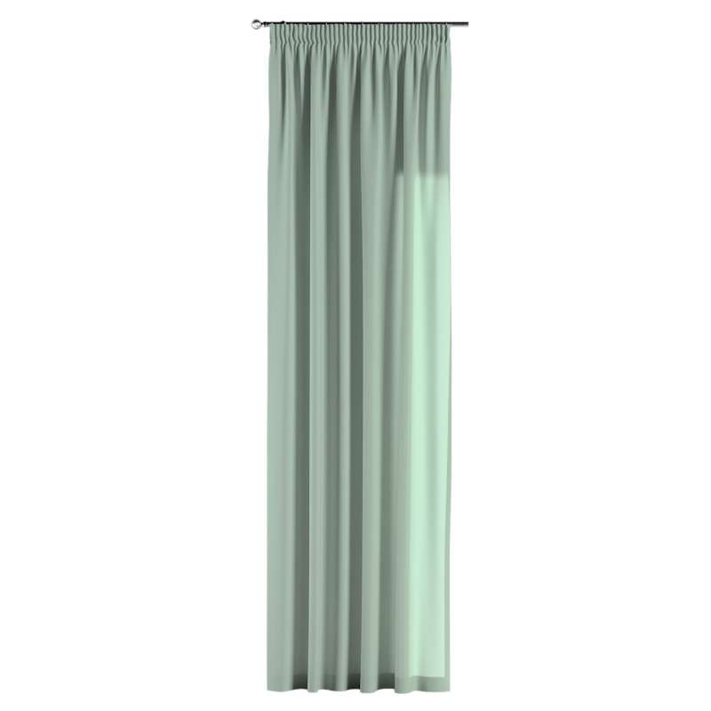 Pencil pleat curtain in collection Loneta , fabric: 133-61