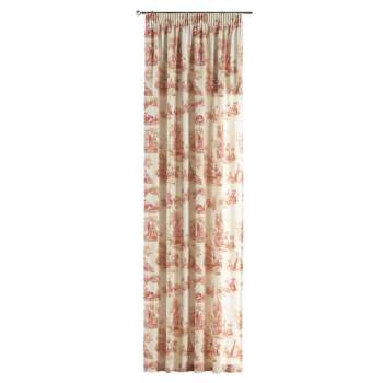 Pencil pleat curtains 130 x 260 cm (51 x 102 inch) in collection Avinon, fabric: 132-15