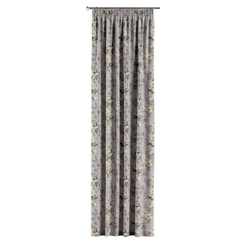 Függöny ráncolóval a kollekcióból Londres Bútorszövet, Dekoranyag: 143-36