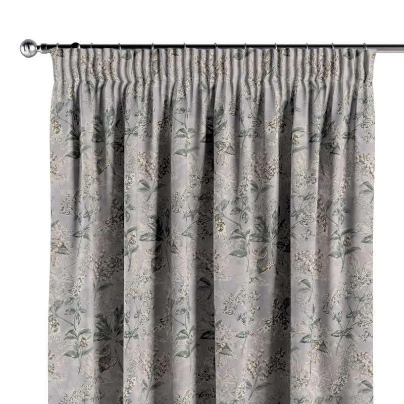 Vorhang mit Kräuselband von der Kollektion Londres, Stoff: 143-37