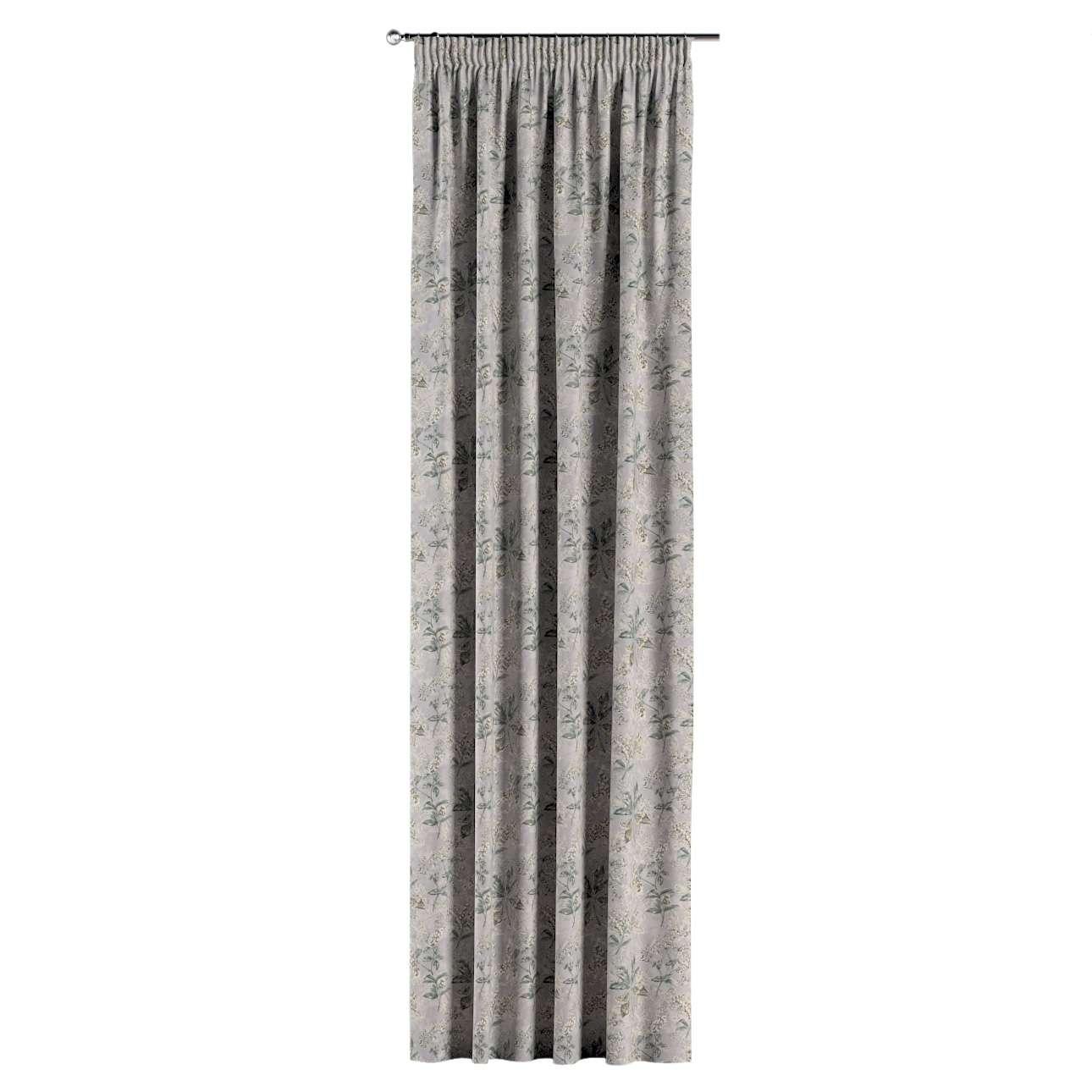 Gardin med rynkebånd 1 stk. fra kollektionen Londres, Stof: 143-37