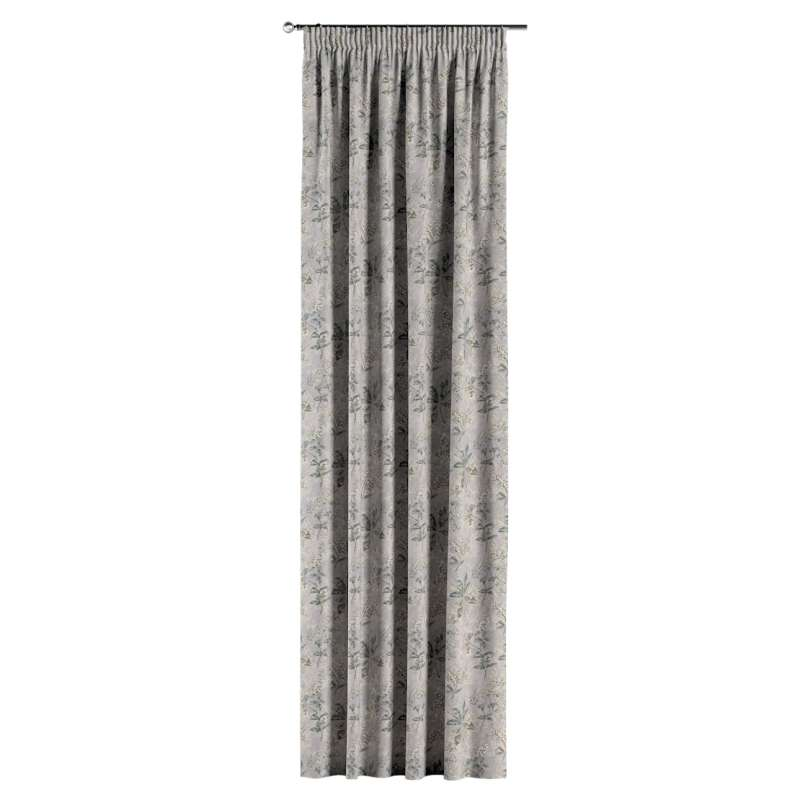 Pencil pleat curtain in collection Londres, fabric: 143-37