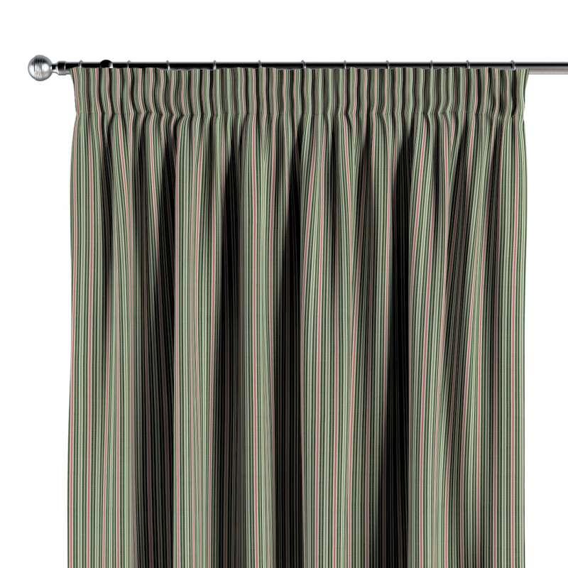 Függöny ráncolóval a kollekcióból Londres Bútorszövet, Dekoranyag: 143-42