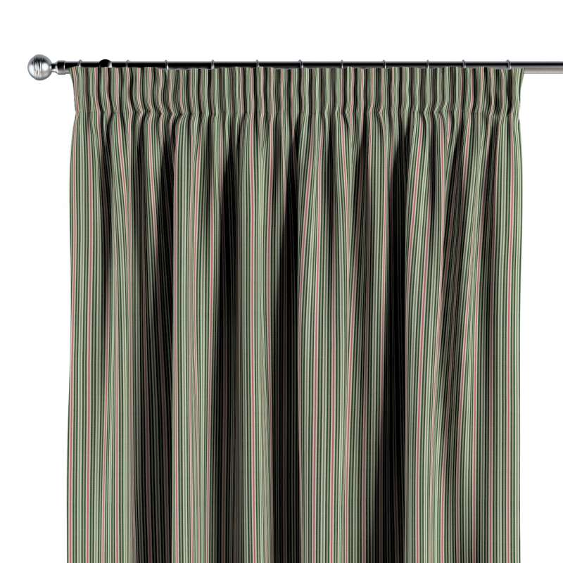 Vorhang mit Kräuselband von der Kollektion Londres, Stoff: 143-42