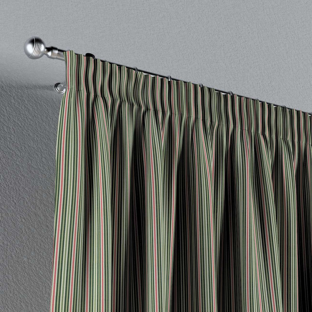 Záves na riasiacej páske V kolekcii Londres, tkanina: 143-42