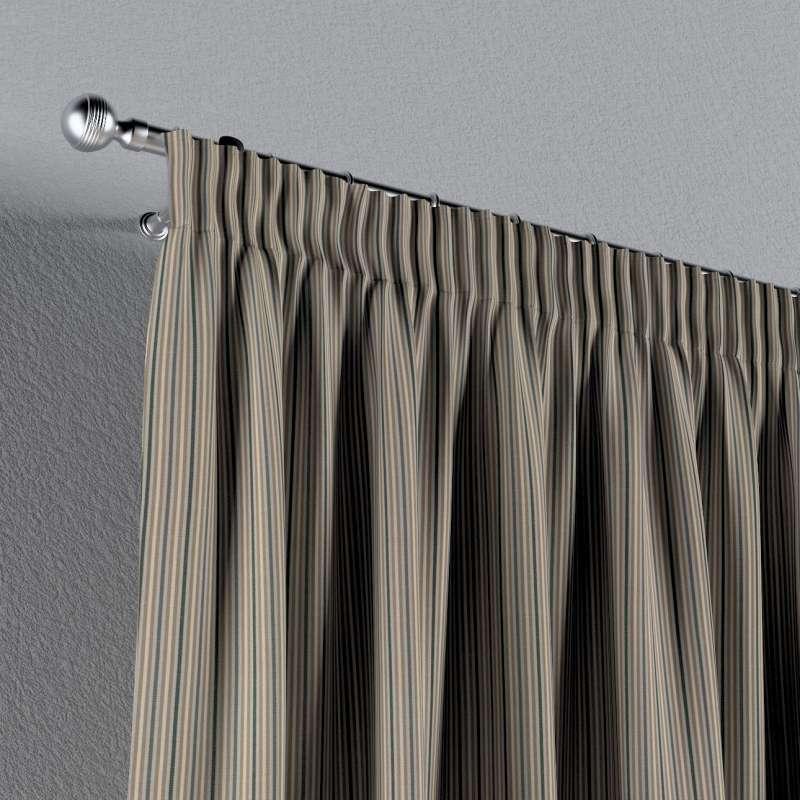 Vorhang mit Kräuselband von der Kollektion Londres, Stoff: 143-38