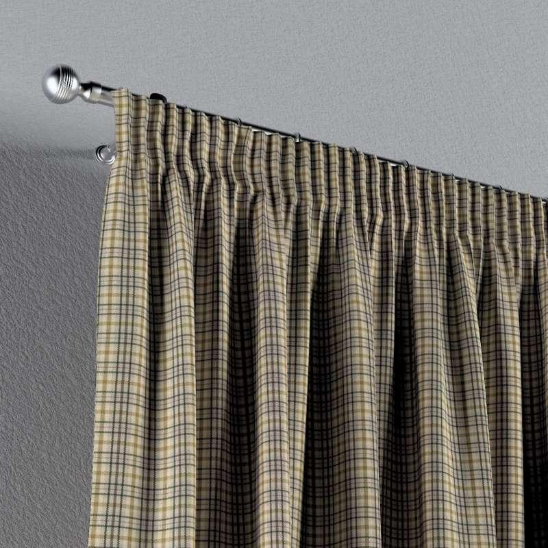 Vorhang mit Kräuselband von der Kollektion Londres, Stoff: 143-39