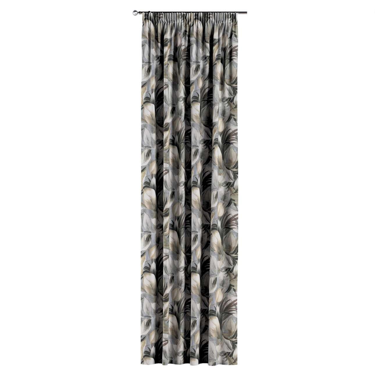 Záves na riasiacej páske V kolekcii Abigail, tkanina: 143-60