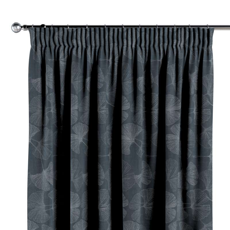 Pencil pleat curtain in collection Venice, fabric: 143-52