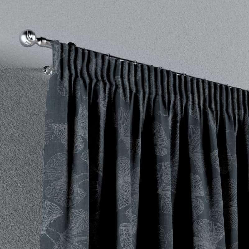 Vorhang mit Kräuselband von der Kollektion Venice, Stoff: 143-52